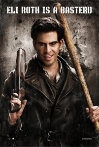 Eli Roth is a batter